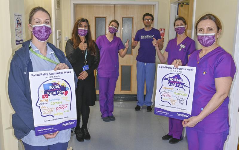Broomfield hospital team